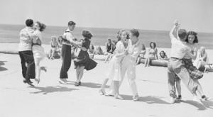 Pic: Balboa dancers, 1930s. Corbis